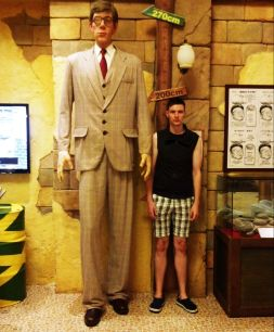 ...and Mikey is tall!