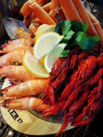 Shrimp + King Crab Legs