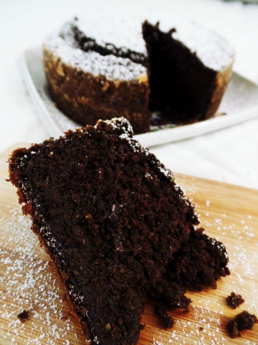 Chocolate Zucchini Cake 6