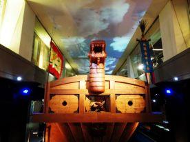 Model turtle ship