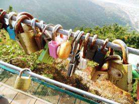 Love locks. Naturally.