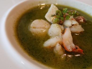 Basil Seafood Soup