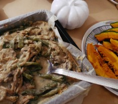 Green Bean Casserole...no Thanksgiving is complete without it.