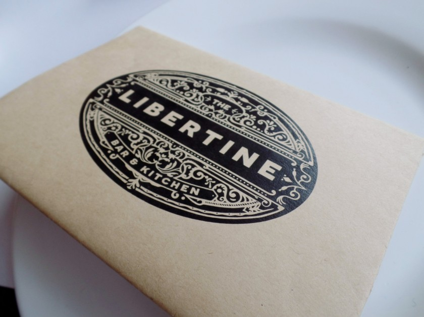 Libertine Itaewon Menu