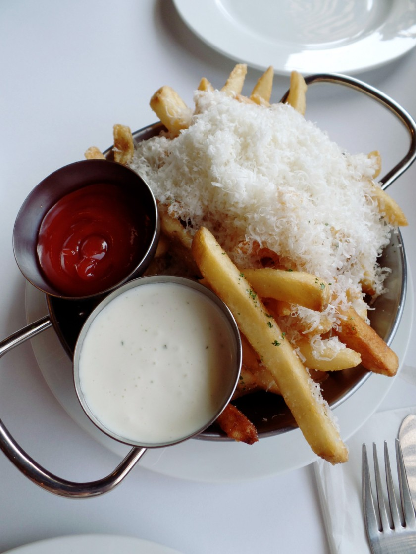 Libertine Parmesan and Herb Fries with Aioli