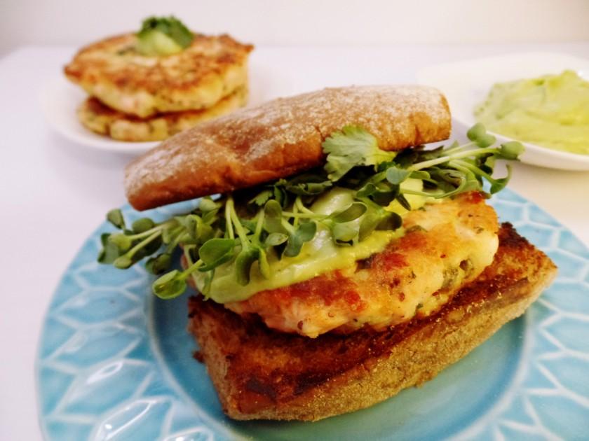Salmon Burger Patties