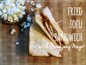 Fried Tofu Sandwich titlejpg