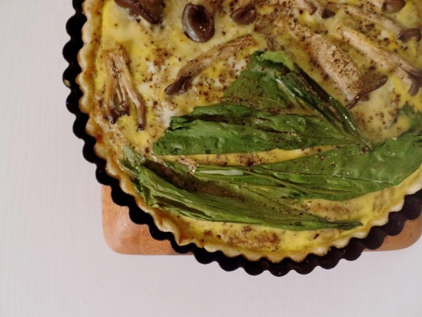 Mushroom and Egg Tart b