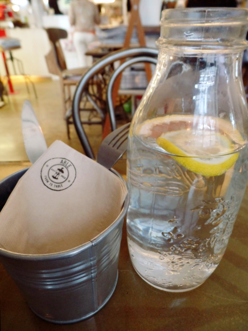 Cafe Able Water with Citrus