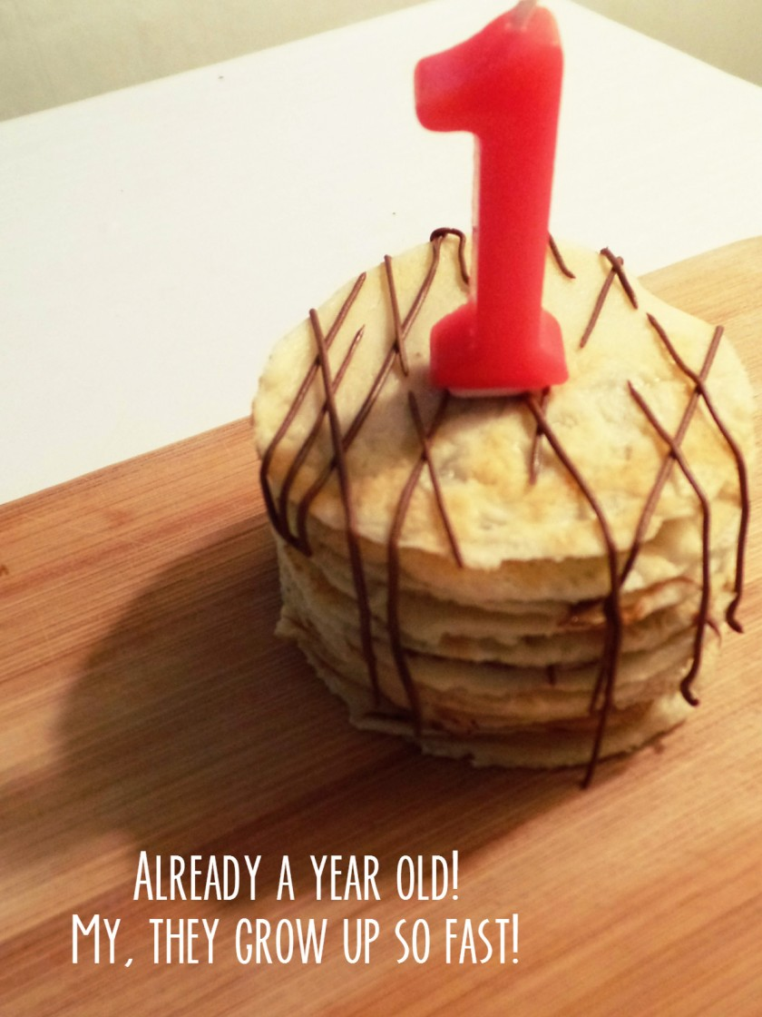 Crepe Cake One Year Old