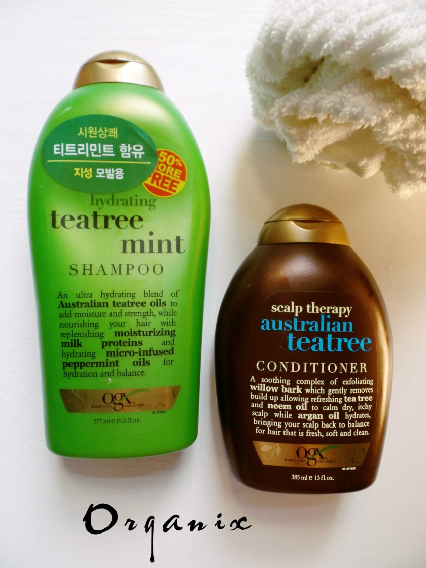 organix shampoo conditioner