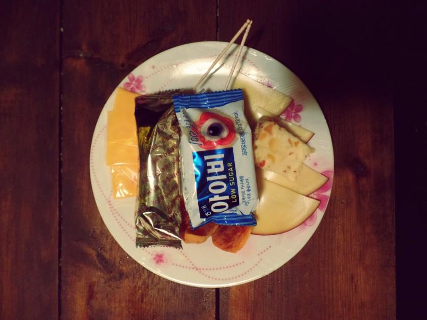 Sad Cheese Plate
