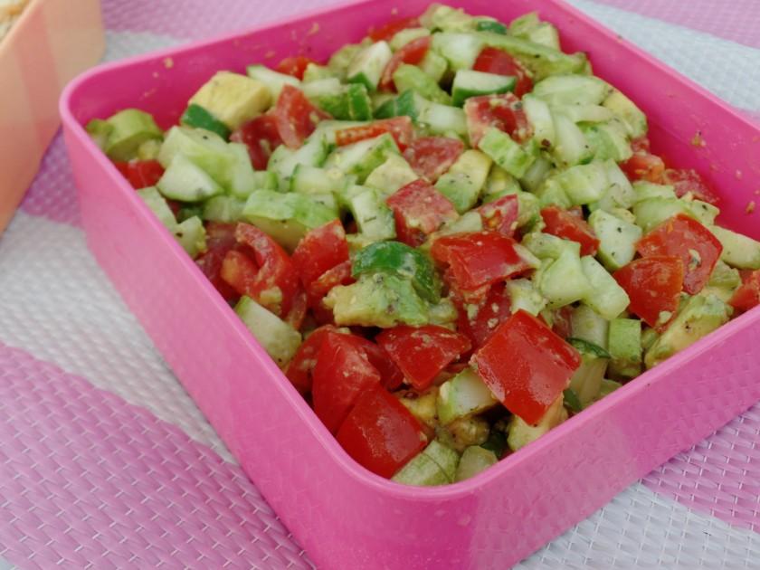 Tomato & Cucumber salad