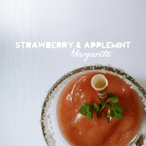 strawberry and applemint margarita 3