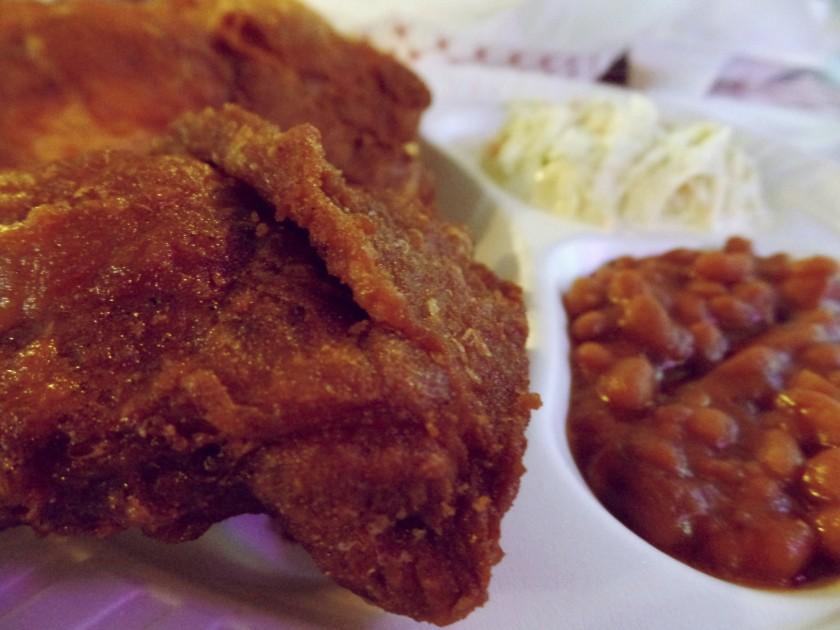 3 piece dark meat Gus's Memphis 2