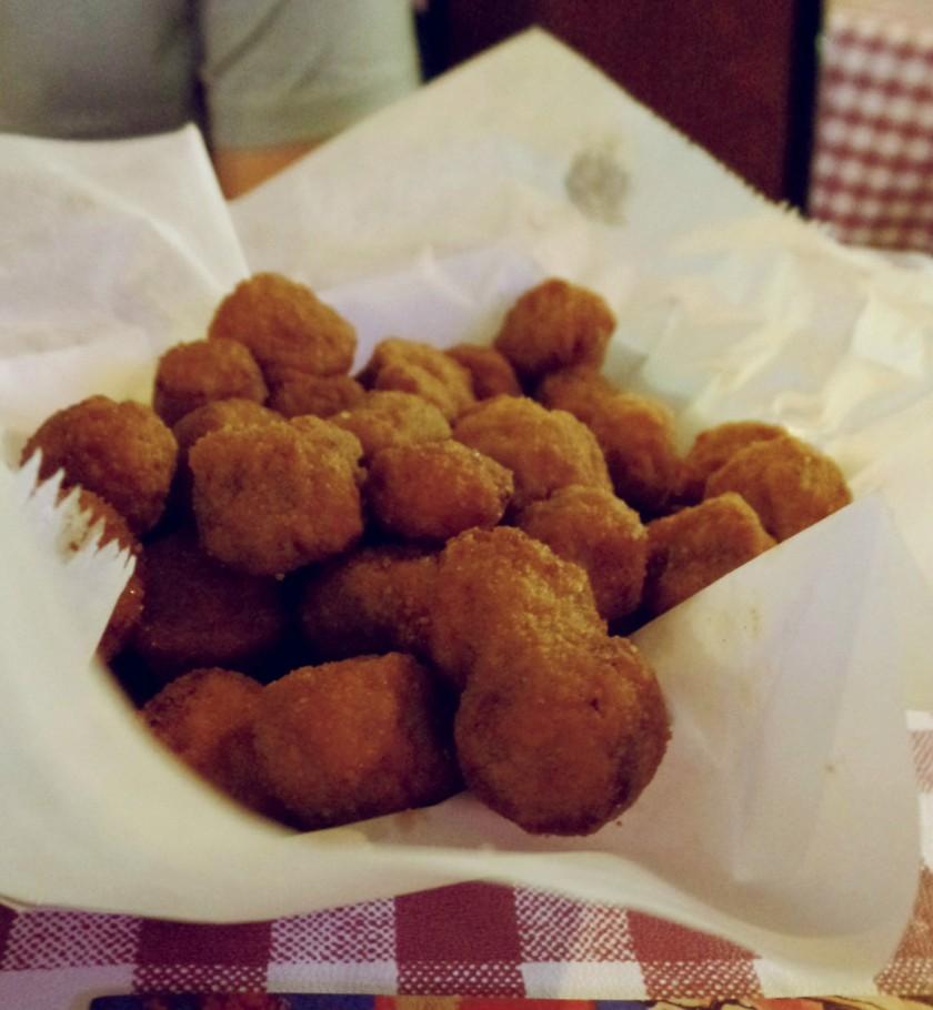 Fried Okra Gus's Memphis