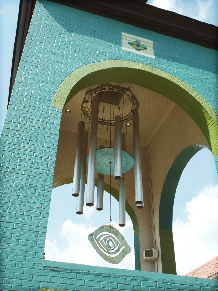 Giant Wind Chime Memphis