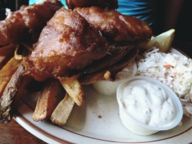 Horse Brass Pub portland fish and chips