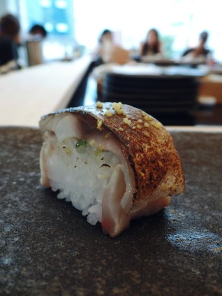 Mackerel Soaked in Vingegar