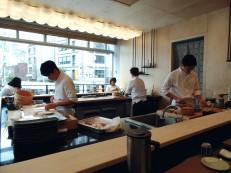 Sushi Shiro Hongdae Chefs