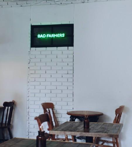 Bad Farmers Sinsa Dining Areas