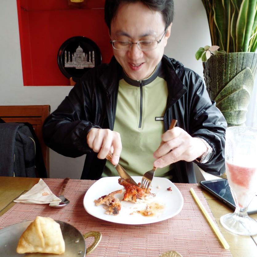 phil @ om restaurant