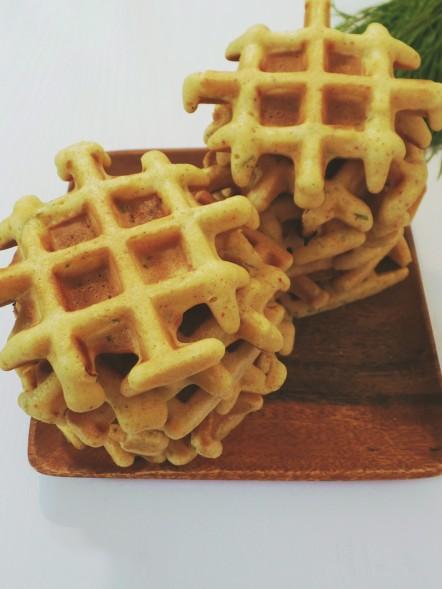cornbread waffles 002