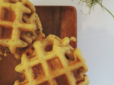 cornbread waffles 003