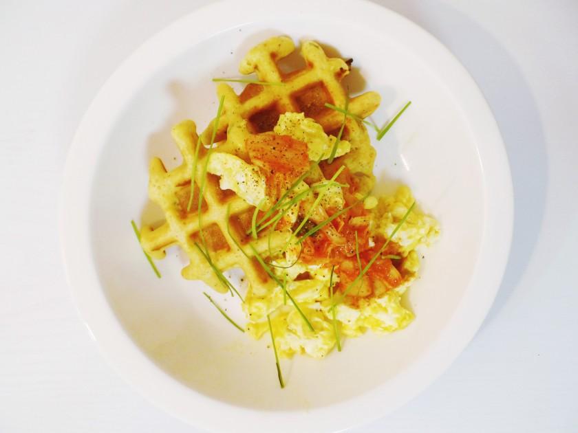 cornbread waffles 004