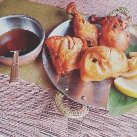 This chicken Tikka was found at Om in Samcheongdong.