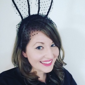 My more sophisticated take on a rabbit for a night out at Rocky Horror Picture Show.