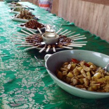 Paon Cooking Class Ubud full spread