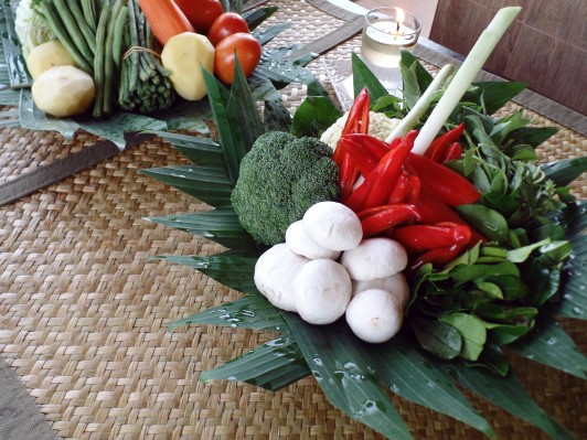 Paon Cooking Class Ubud Ingredients 2