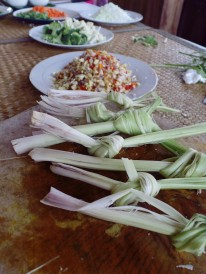 Paon Cooking Class Ubud Ingredients lemongrass