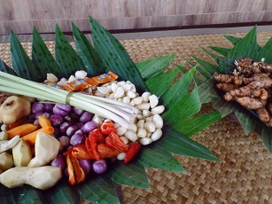 Paon Cooking Class Ubud Ingredients