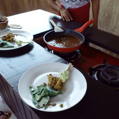 Paon Cooking Class Ubud Making Yellow Sauce 3
