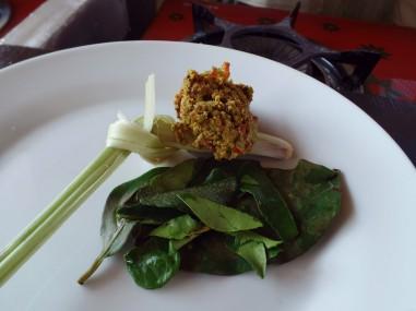 Paon Cooking Class Ubud Making Yellow Sauce 4