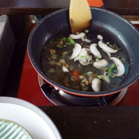 Paon Cooking Class Ubud Mushroom Soup 3