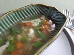 Paon Cooking Class Ubud Mushroom Soup