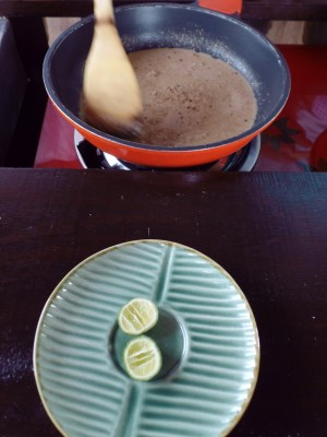 Paon Cooking Class Ubud Peanut Sauce 2