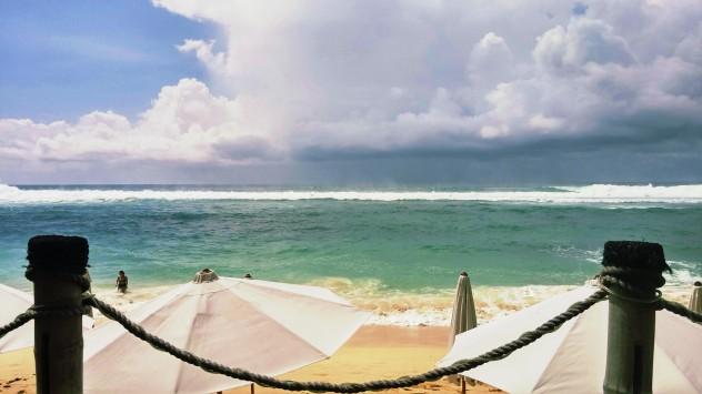 Storm brewing Finn's Beach Club