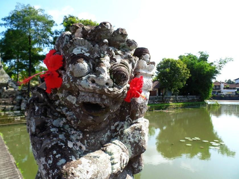 Taman Ayun Temple Entrance Guardian
