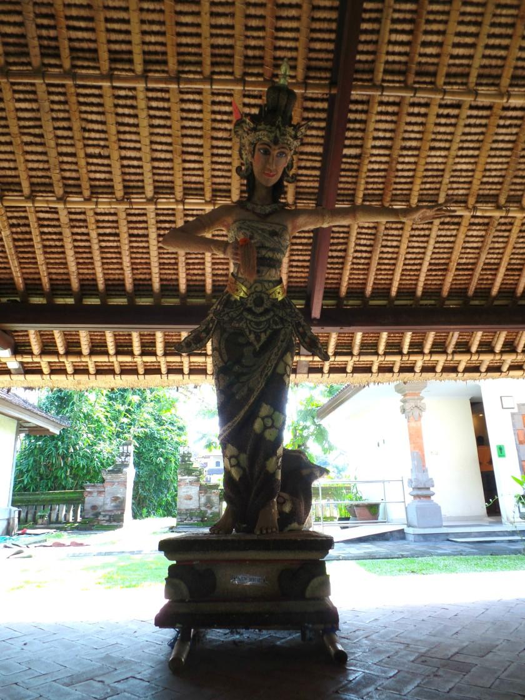 Taman Ayun Temple Rice Goddess