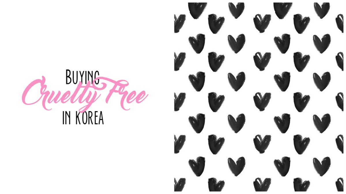 Cruelty Free Products in Korea | April Update