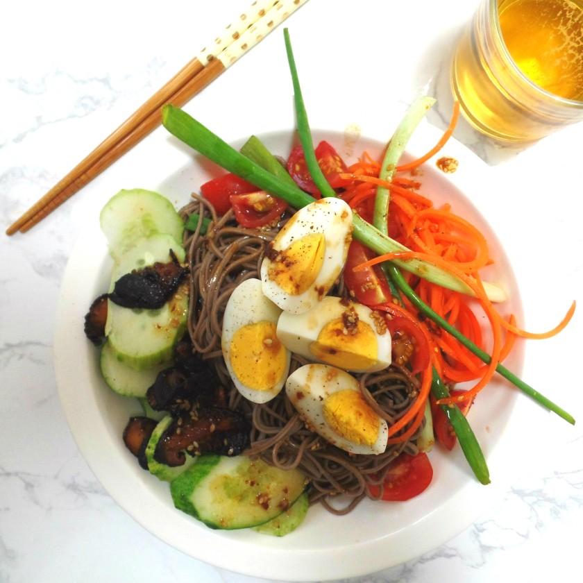 Asian Cobb Salad unepeach.com 010