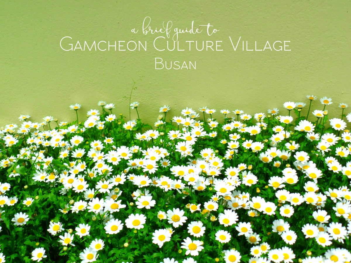 Gamcheon Cultural Village Busan title