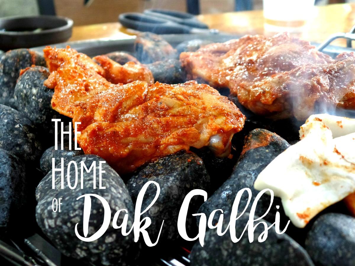 Dak Galbi Chuncheon Korea Title