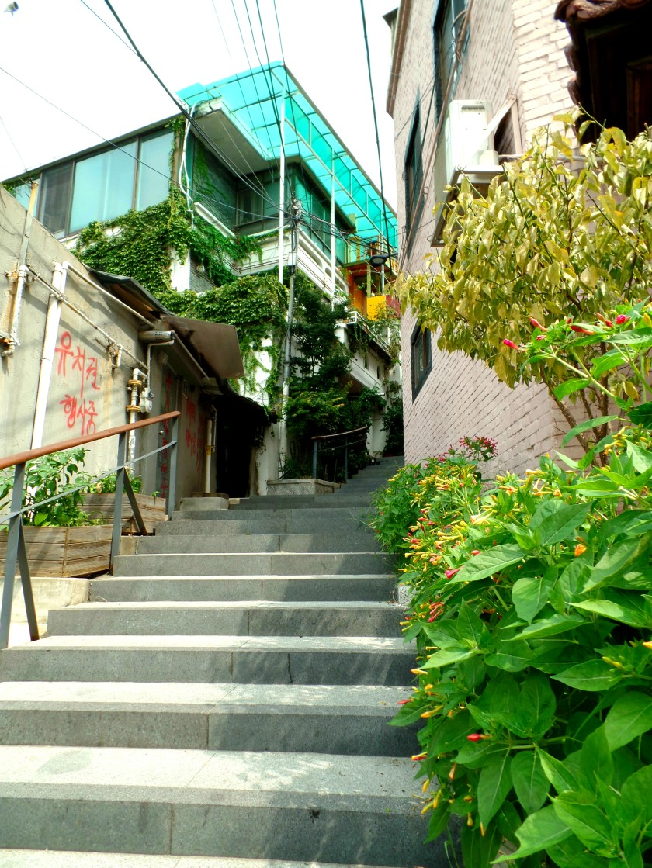 Ehwa Mural Village Seoul Korea 007