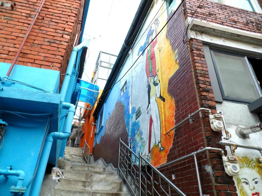 Ehwa Mural Village Seoul Korea 018